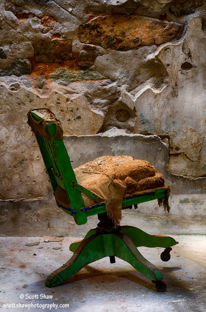 Chair, Cell Block 8, Cell 21, Eastern State Penitentiary