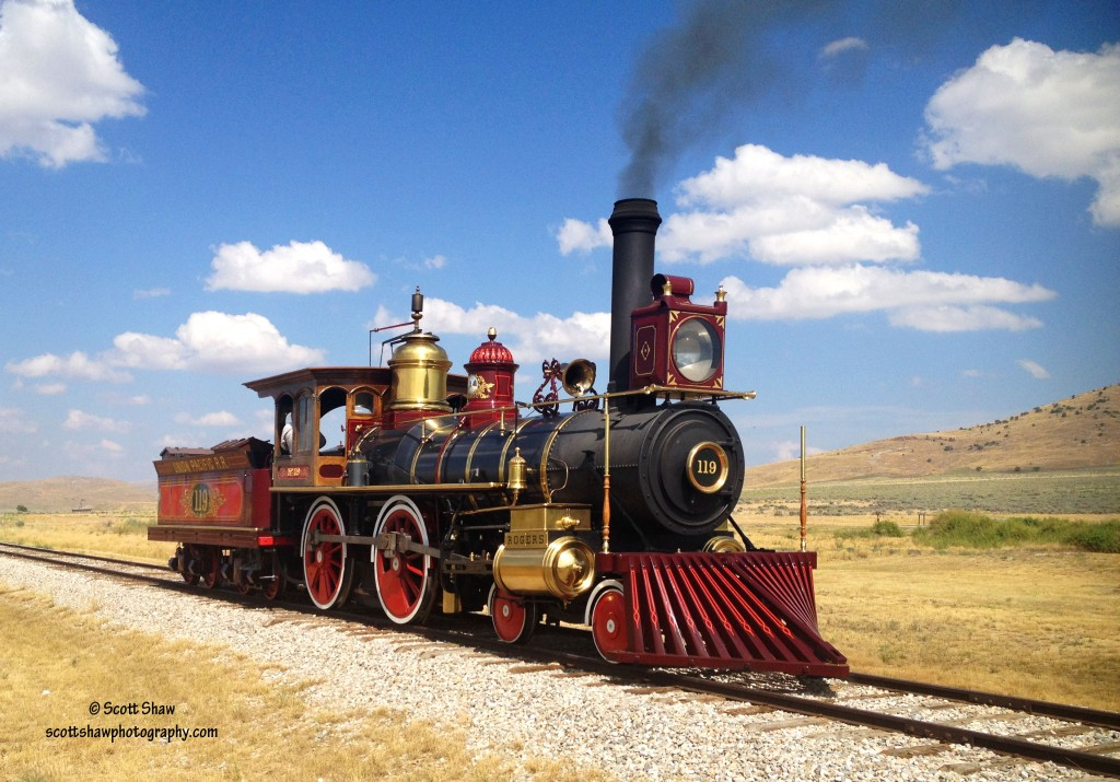 Train 119 at Golden Spike National Historic Site