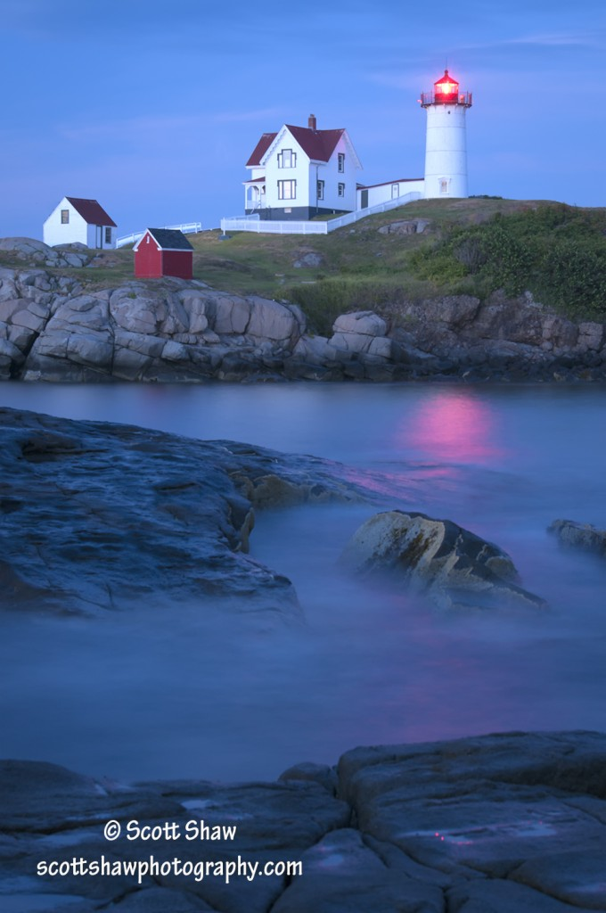 Sunset at Cape Neddick Lighthouse