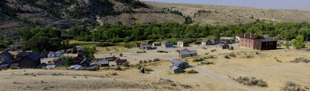 Bannack Town Panorama