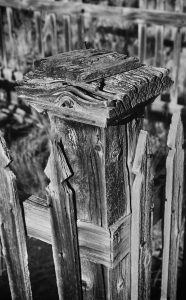 Cemetery Fence Post, Bannack State Park, MT