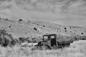 An abandoned truck at Montana's Bannack State Park