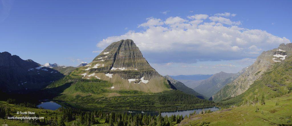 Hidden Lake Overview, Glacier National Park