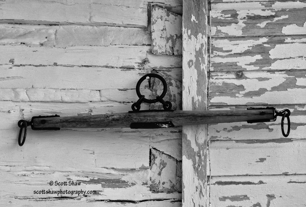 Wagon Yoke on Barn Wall
