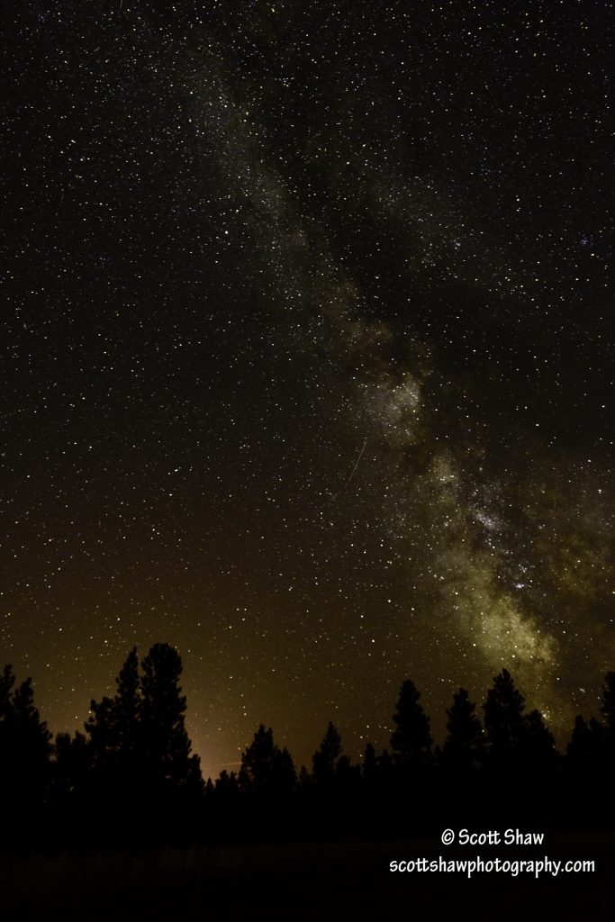 Milkyway Over Darby