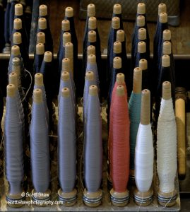 Textile Bobbins, Lowell National Historical Park