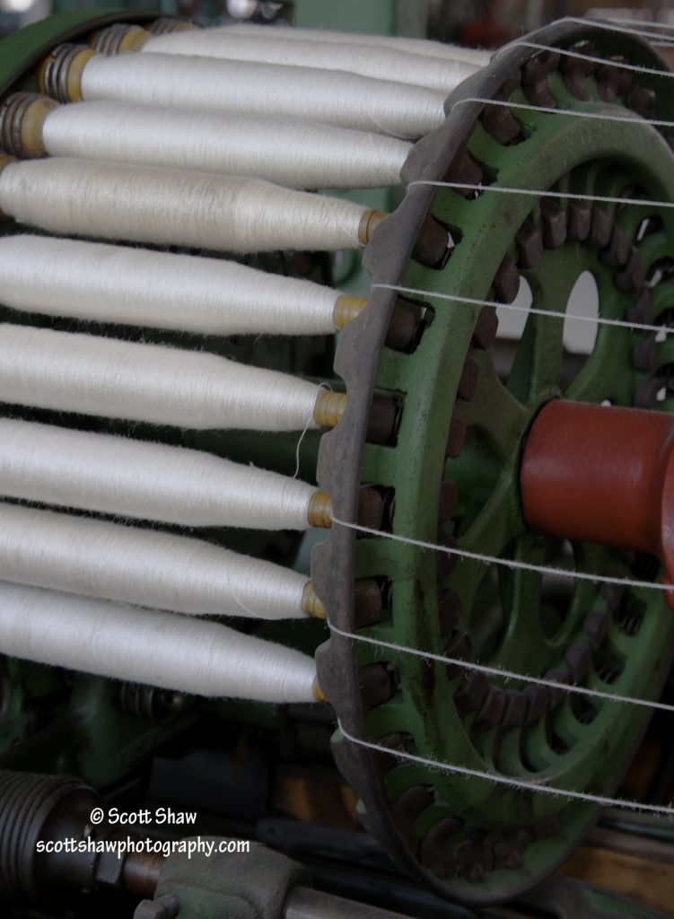 Bobbins on Spool
