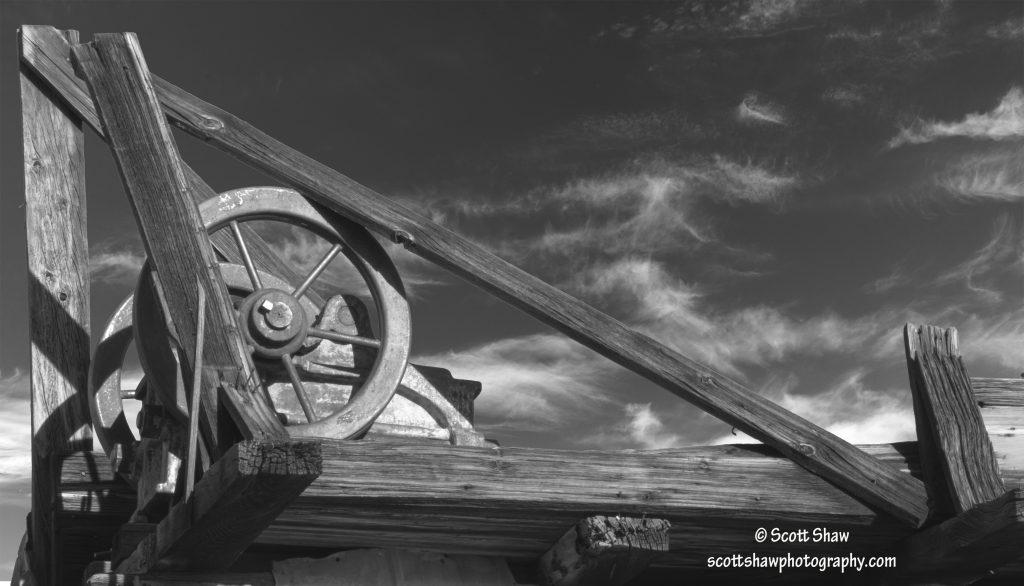 Wheel Structure, Keys Ranch, Joshua Tree National Park