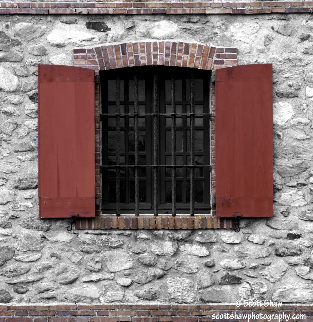 Brick Window, Fortress of Louisbourg