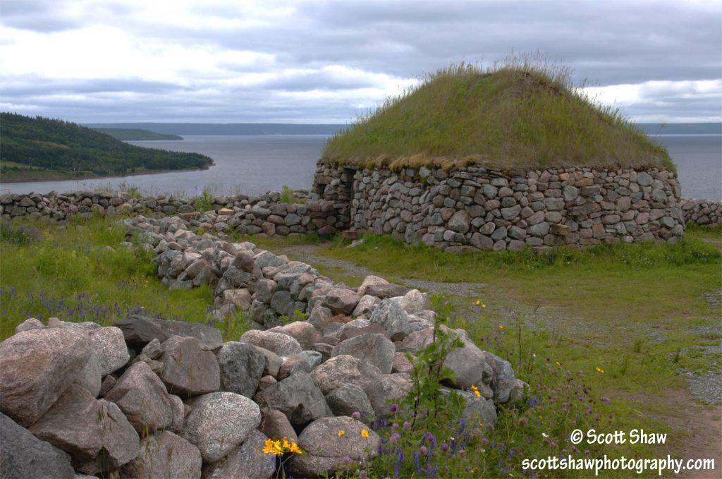 Stone Hut, Highland Village Nova Scotia