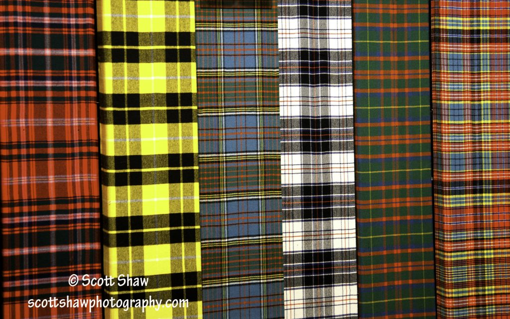 Tartan, Great Hall of the Clans at the Gaelic College