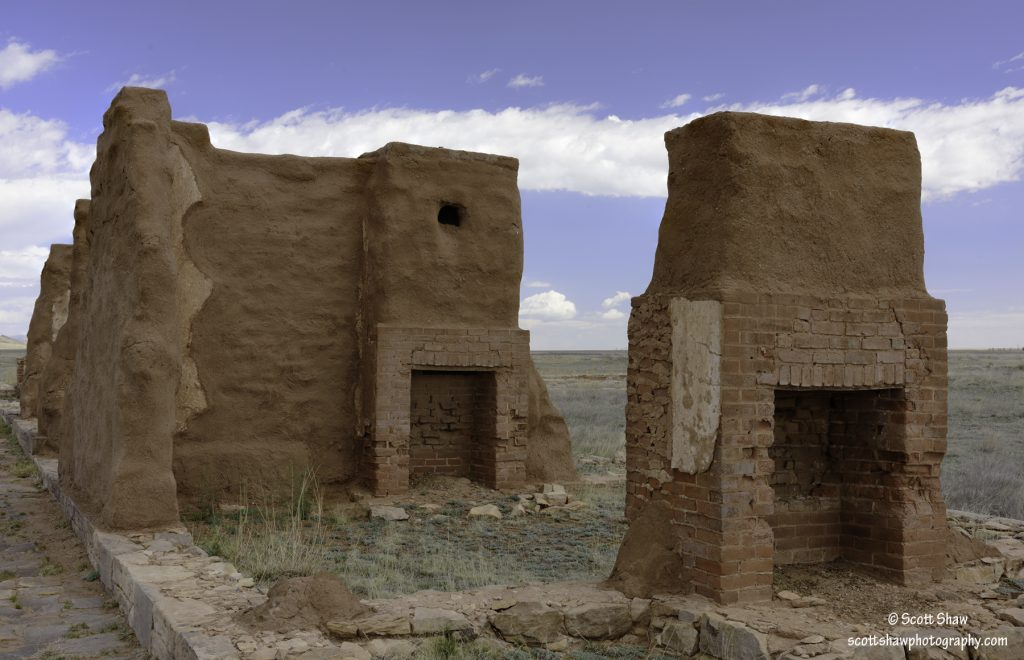 Chimney Twins, Fort Union National Monument
