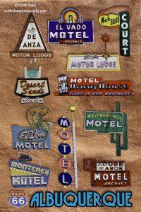 Albuquerque's Neon Signs of Route 66