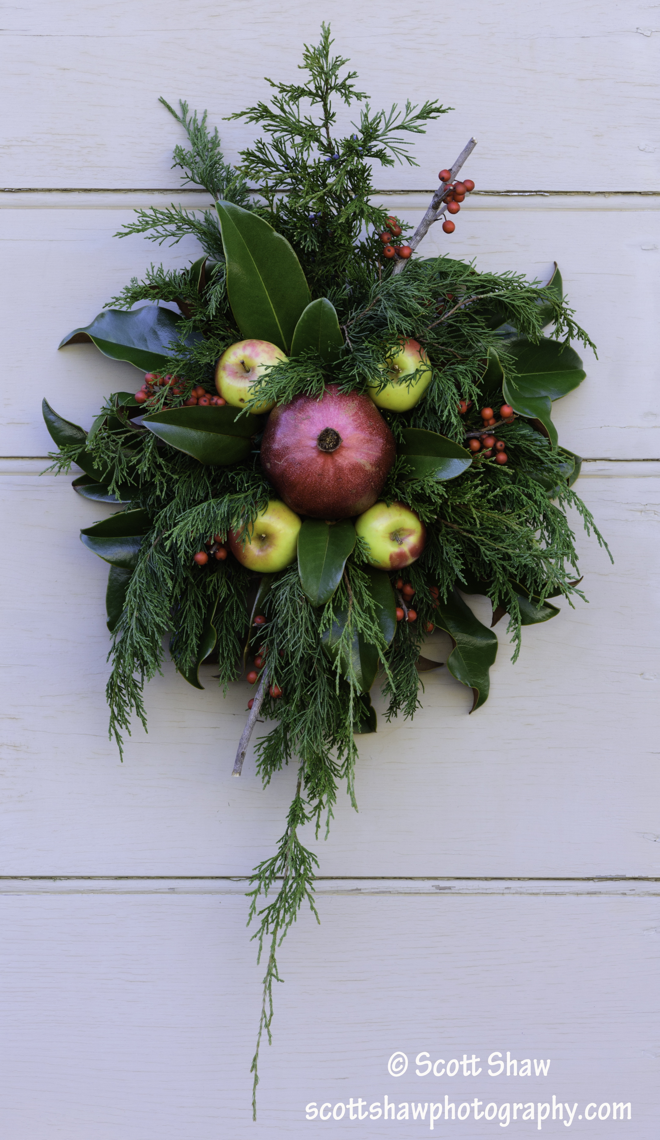 Colonial Williamsburg Simple Wreath